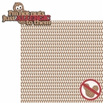 Peanut Allergy: I'm not a Nut 2 Piece Laser Die Cut Kit