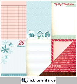 Peppermint Express: Dear Santa 12 x 12 Double-Sided Cardstock