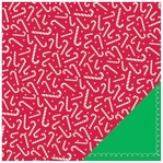 Peppermint Express: Santa Land 12 x 12 Double-Sided Cardstock