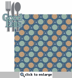 Perfect Vacation: Good Eats 2 Piece Laser Die Cut Kit