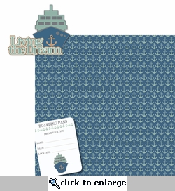 Perfect Vacation: Living The Dream 2 Piece Laser Die Cut Kit