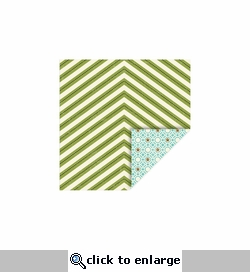 Pet: Chevron-Paws 12 x 12 Double-Sided Cardstock