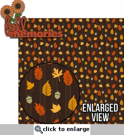 Pick of the Patch: Fall Memories Laser Die Cut Kit