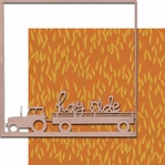 Pick of the Patch: Hayride 12 x 12 Overlay Quick Page Laser Die Cut