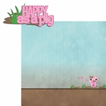 Piggy: Happy as a pig 2 Piece Laser Die Cut Kit