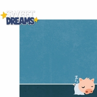 Piggy: Sweet Dreams 2 Piece Laser Die Cut Kit