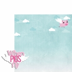 Piggy: When pigs fly 2 Piece Laser Die Cut Kit