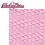 Pink Power: Find A Cure 2 Piece Laser Die Cut Kit