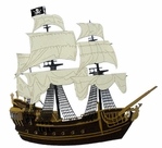 Pirate Ship Gold Die-Cut