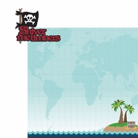 Pirate: Shiver Me 2 Piece Laser Die Cut Kit