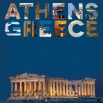 Places To See: Athens 12 x 12 Paper