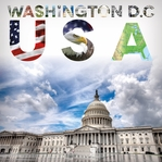 Places To See: Washington D.C 12 x 12 Paper