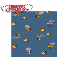 Plane: Always on the Go 2 Piece Laser Die Cut Kit