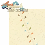 Planes & Trains: Above The Clouds 2 Piece Laser Die Cut Kit