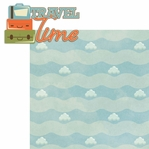 Planes & Trains: Travel Time 2 Piece Laser Die Cut Kit