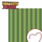 Play with heart 2 Piece Laser Die Cut Kit