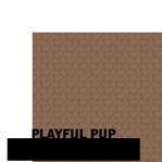 Playful Pup Border 2 Piece Laser Die Cut Kit