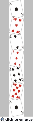 Playing Card Border Die Cut