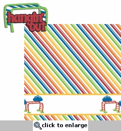 Playtime: Hangin' Out 2 Piece Laser Die Cut Kit