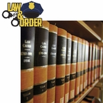 Police: Law & Order 2 Piece Laser Die Cut Kit
