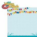 Pool Party: Making a Splash 2 Piece Laser Die Cut Kit