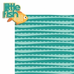 Pool Time: Little Fish 2 Piece Laser Die Cut Kit
