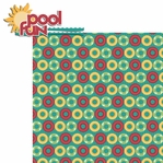 Pool Time: Pool Fun 2 Piece Laser Die Cut Kit