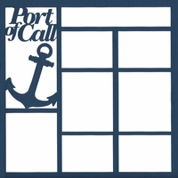 Port Of Call 12 x 12 Overlay Laser Die Cut