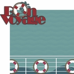 Ports Of Call: Bon Voyage 2 Piece Laser Die Cut Kit