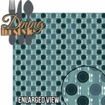 Ports Of Call: Dining In Style 2 Piece Laser Die Cut Kit