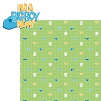 Potty Time: I'm a Big Boy Now 2 Piece Laser Die Cut Kit