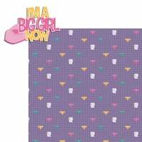 Potty Time: I'm a Big Girl Now 2 Piece Laser Die Cut Kit