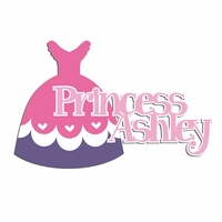 Princess: Custom Princess Laser Die Cut