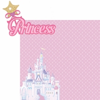 Princess: Princess 2 Piece Laser Die Cut Kit