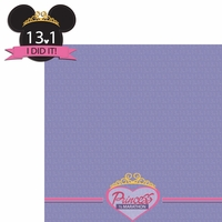 Princess Run: 13.1 2 Piece Laser Die Cut Kit