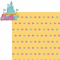 Princess Run: Race You 2 Piece Laser Die Cut Kit