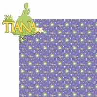 Princesses: Tiana 2 Piece Laser Die Cut Kit