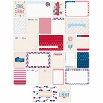Project Life: Americana Themed Cards 40/Pkg
