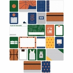 Project Life: Basketball Themed Cards 40/Pkg