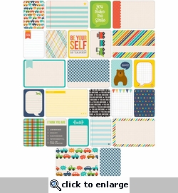 Project Life: Boy Themed Cards 60/Pkg