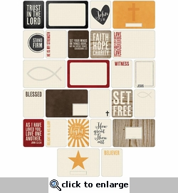 Project Life: Christian Themed Cards 60/Pkg