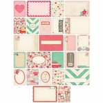 Project Life: Love Themed Cards 40/Pkg