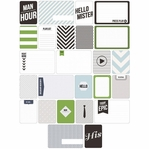 Project Life: Man's World Themed Cards 60/Pkg