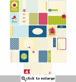 Project Life: School Themed Cards 60/Pkg