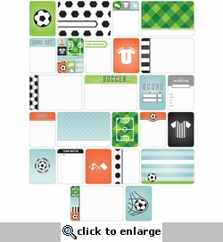 Project Life: Soccer Themed Cards 40/Pkg