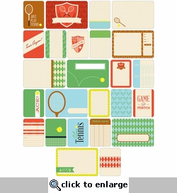 Project Life: Tennis Themed Cards 40/Pkg