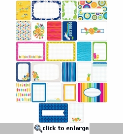 Project Life: Tropical Themed Cards 60/Pkg