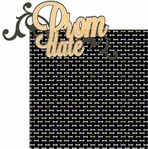 Prom: Prom Date 2 Piece Laser Die Cut Kit