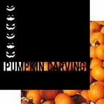 Pumpkin Carving 12 x 12 Overlay Quick Page Laser Die Cut
