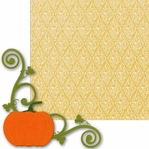 Pumpkin Corner 2 Piece Laser Die Cut Kit
